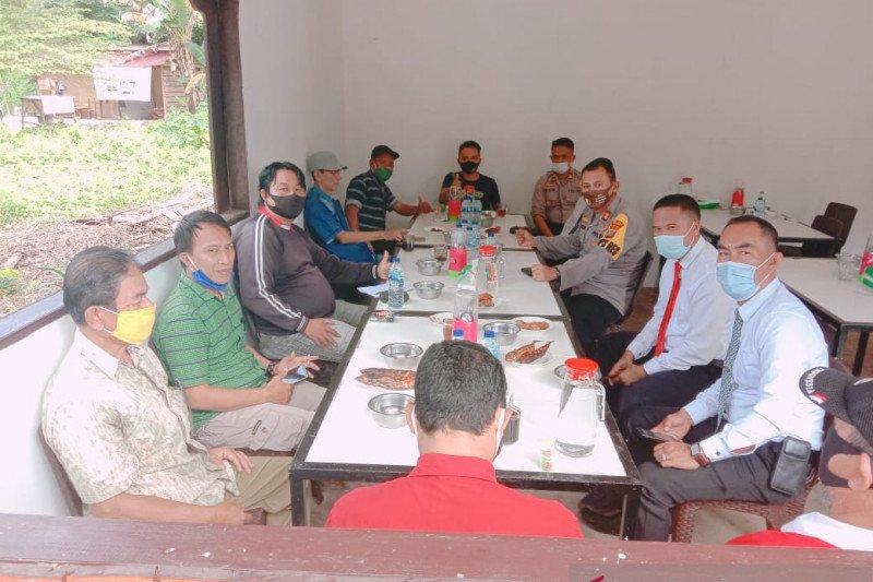 Kapolres Morowali Utara ajak jurnalis awasi anggotanya