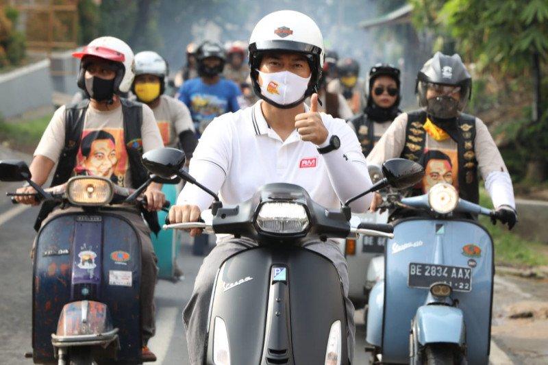 Vespa Mania akan berjuang wujudkan 'Bandar Lampung Baru'