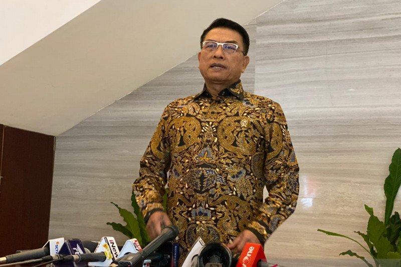 Moeldoko sebut Presiden Jokowi sudah beberapa kali peringatkan menteri