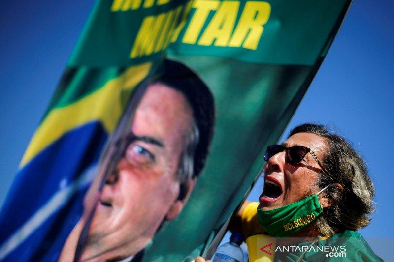 Dalam 24 jam, Brazil catat 42.223 kasus tambahan virus corona