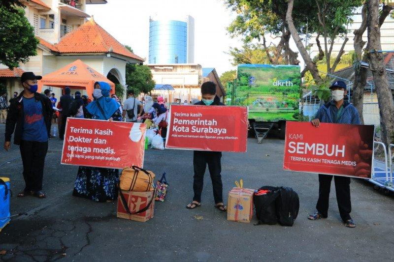 2.000 lebih pasien COVID-19 di Surabaya sembuh
