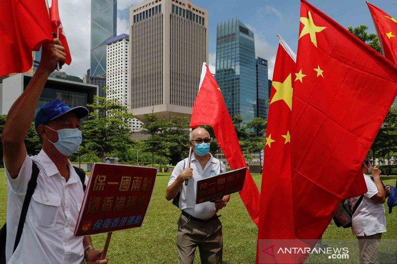 Hari jadi  Hong Kong  diperingati dengan pemberlakuan UU keamanan nasional