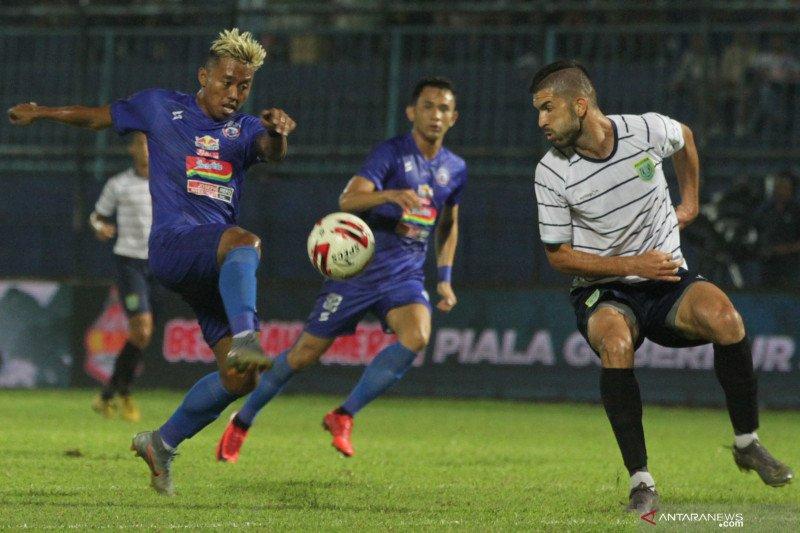 Arema FC bersiap diri jelang dilanjutkannya kompetisi Liga 1