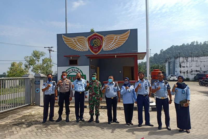 Cegah penyebaran COVID-19, seluruh tahanan baru Rutan Padang diisolasi di blok khusus