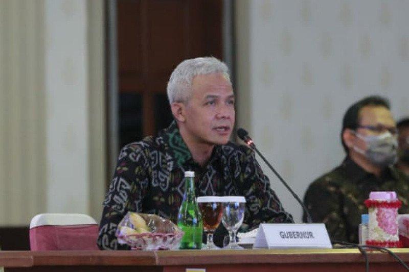 Percepat penanganan COVID-19, Gubernur Jateng membentuk enam satkorwil