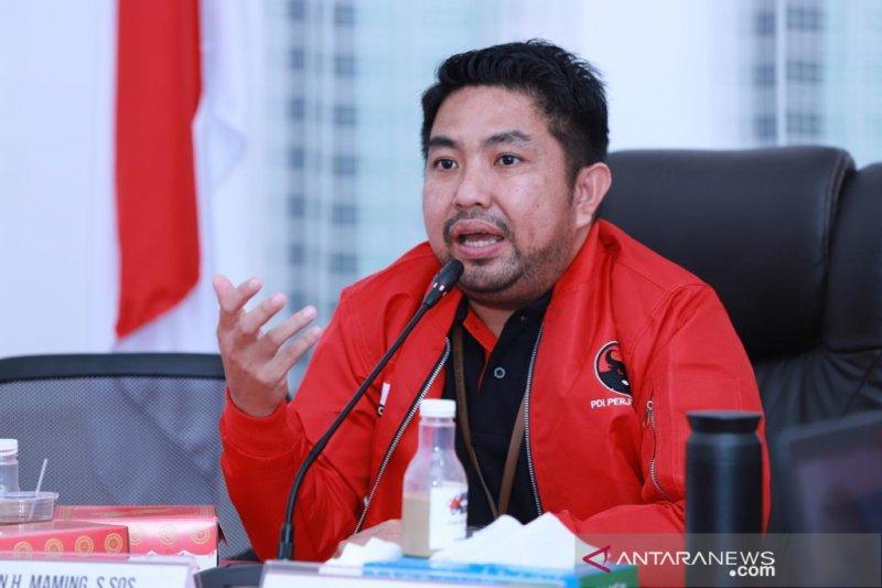 Muhidin tidak terdaftar di PDIP Kalsel sebagai balon wagub setempat