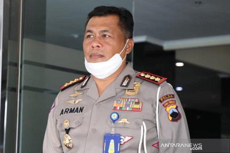 Dirlantas Polda Jateng cek penerapan protokol kesehatan