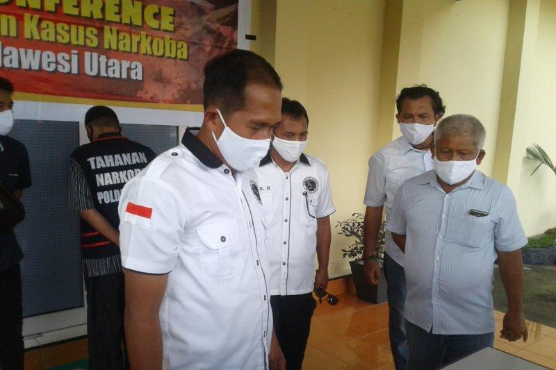 Ditresnarkoba Polda Sulut tangkap anggota DPRD Bolmut diduga memiliki sabu-sabu