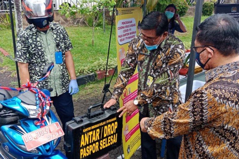 Imigrasi Manado berikan pelayanan memperhatikan protokol kesehatan