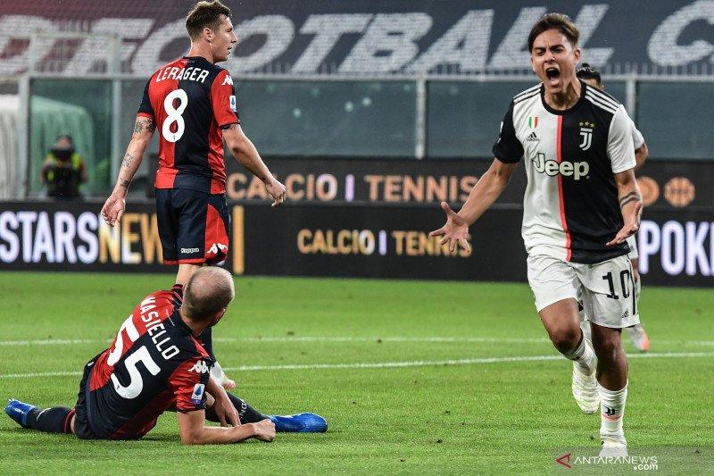 Juventus tundukkan Genoa memelihara keunggulan di puncak klasemen