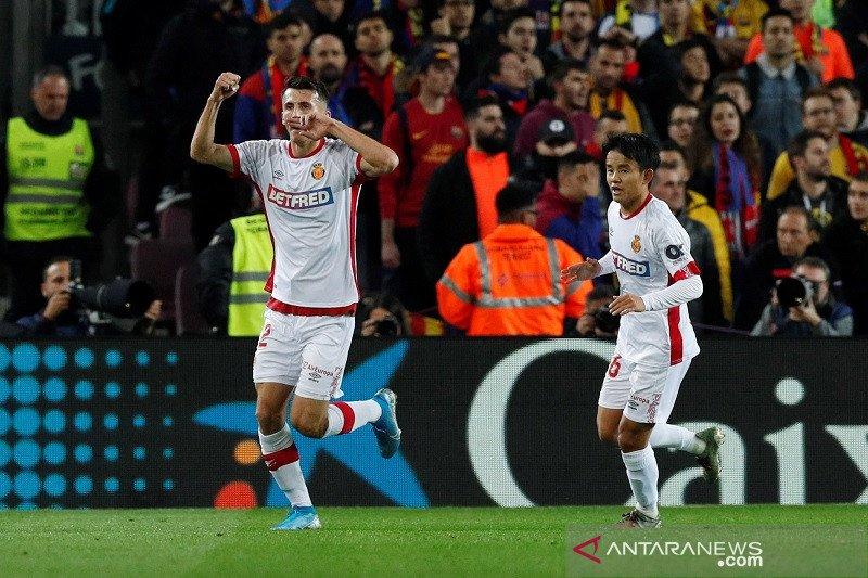 Mallorca menjaga asa bertahan di La Liga usai lumat Celta Vigo 5-1