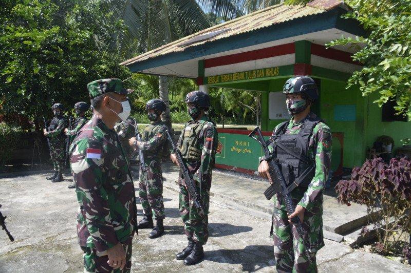 Danrem 172/PWY cek persiapan purna tugas Satgaspam perbatasan Indonesia-PNG