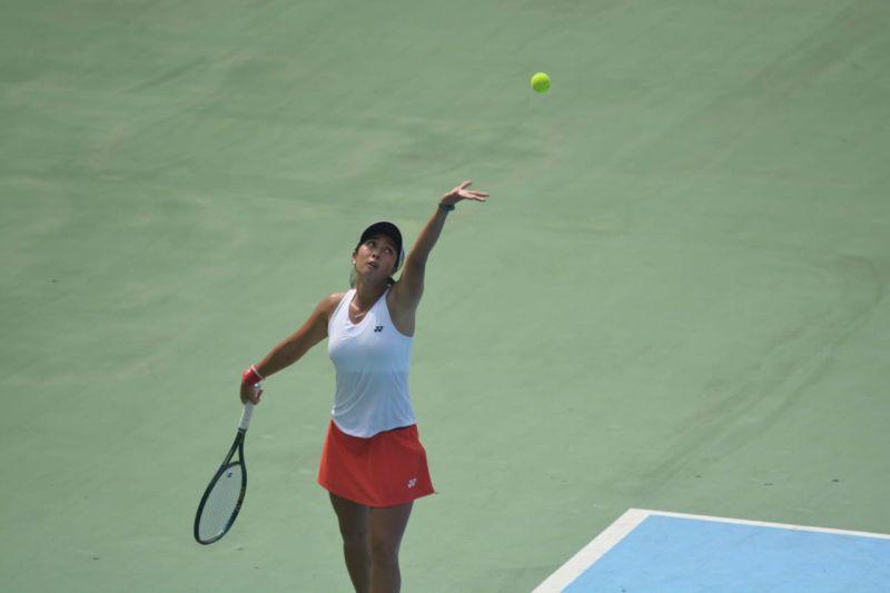 Petenis Indonesia Aldila juarai ganda putri  di AS