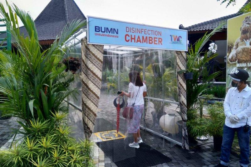 Candi Prambanan hari pertama uji coba normal baru dikunjungi 332 wisatawan