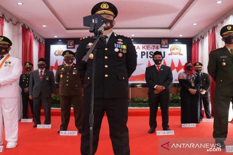 Polres Pulang Pisau terpilih peringati HUT Bhayangkara bersama Presiden RI