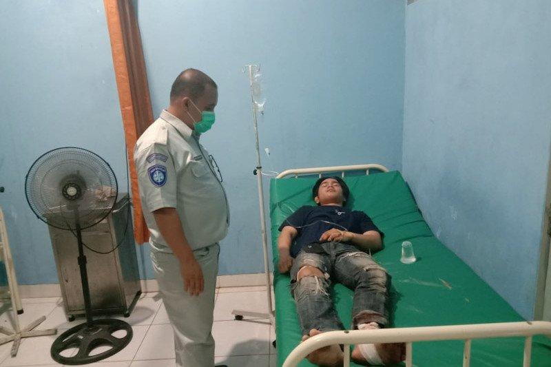 Jasa Raharja Lampung jamin seluruh penumpang bus yang mengalami kecelakaan