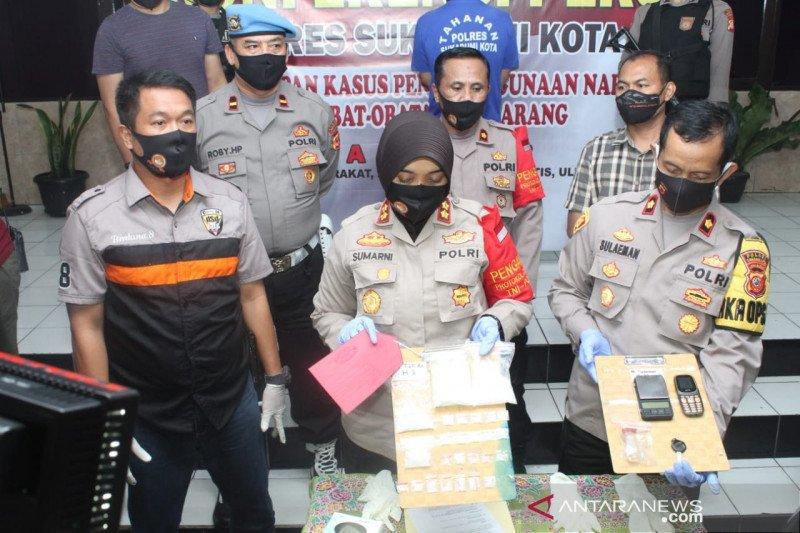 Polres Sukabumi Kota tangkap pengedar sabu-sabu