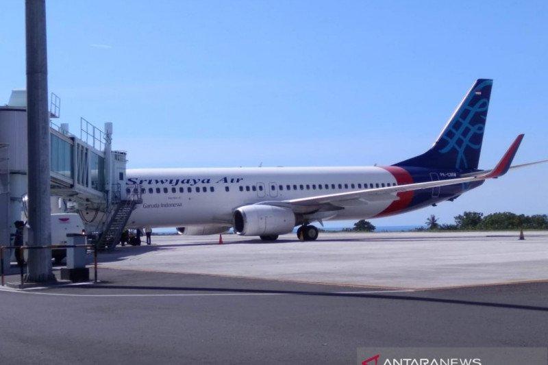 Sriwijaya Air kembali membuka beberapa rute penerbangan domestik