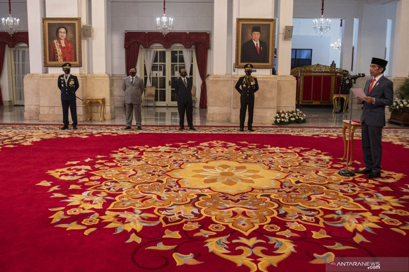 Presiden minta  Polri, Kejaksaan, KPK, lembaga pengawas memperkuat sinergi