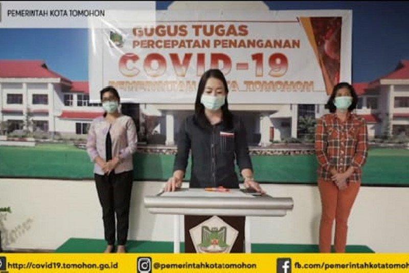 Akumulasi warga Kota Tomohon terjangkit COVID-19 capai 65 orang