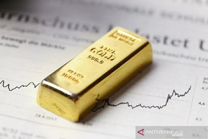 Emas naik tembus 1.800 dolar AS per ounce