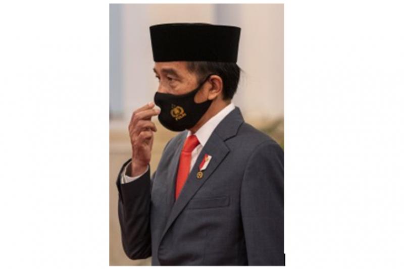 Presiden Jokowi cek kondisi keamanan enam kabupaten pada Hari Bhayangkara
