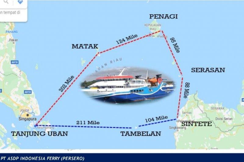15 Juli bakal dibuka rute Tanjung Uban - Sintete