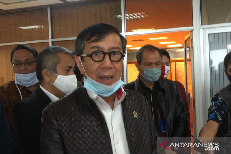Menkumham siap hadapi gugatan Tommy Soeharto terkait pengesahan pengurus Berkarya