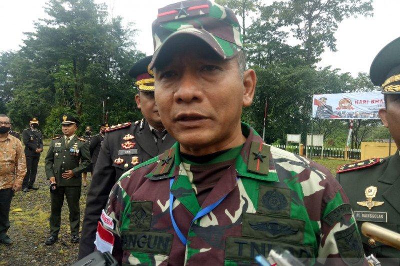 Danrem 174 Merauke: Prajurit TNI Satgas Perbatasan bebas COVID-19