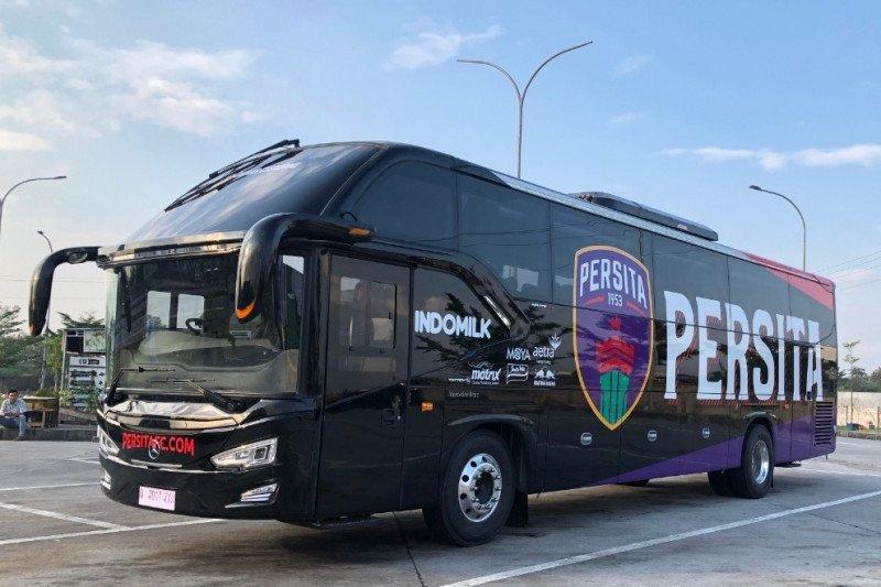 Persita Tangerang kenalkan bus baru tim