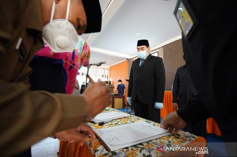 Pemprov Sulsel lantik 10 pejabat fungsional RSUD Sayang Rakyat makassar