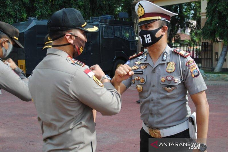 Sebanyak 35 personel Polres Palu naik pangkat