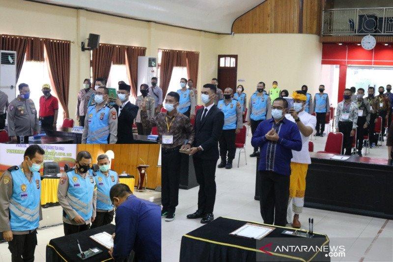 Polda Sulteng komitmen penerimaan calon anggota Polri bebas KKN