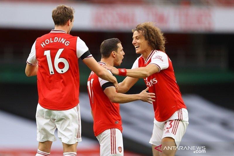 Gulung Norwich City 4-0, Arsenal dekati zona kualifikasi Eropa