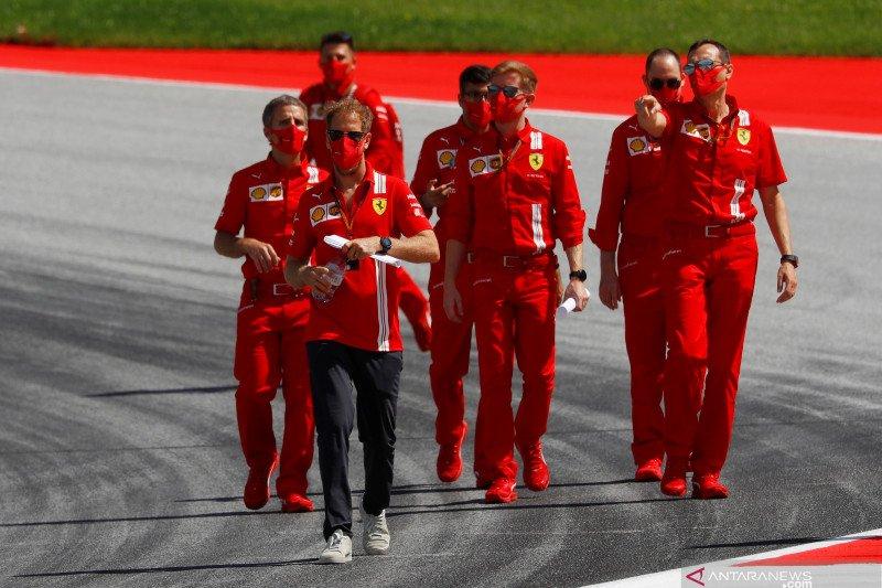Sebastian Vettel ungkap tak pernah ada tawaran kontrak baru dari Ferrari