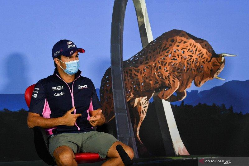 """Sergio Perez termotivasi menantang tiga tim teratas F1 dengan """"pink Mercedes"""""""