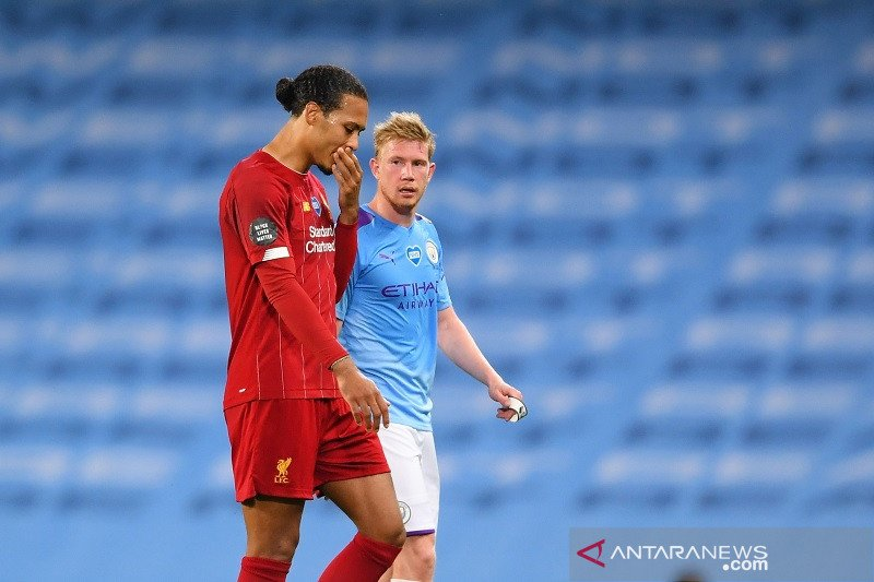 Klasemen Liga Inggris setelah Liverpool pengar usai pesta juara