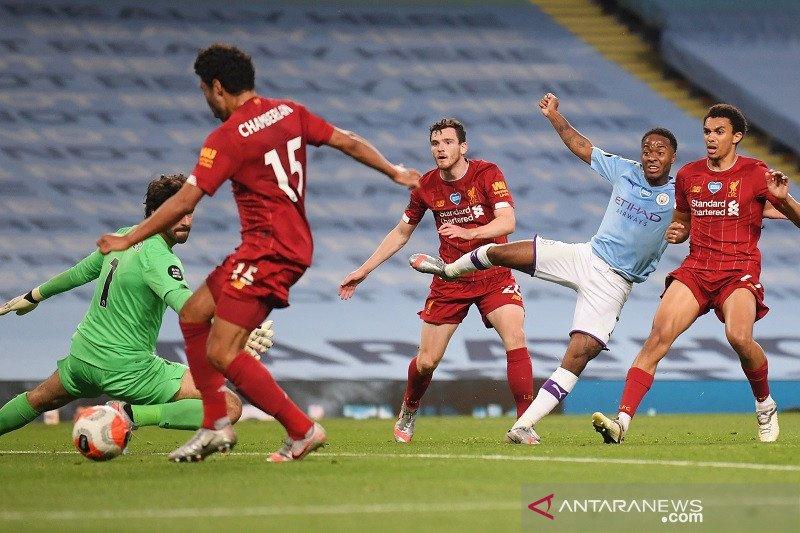 Man City nodai pesta juara Liverpool dengan kemenangan telak di Etihad