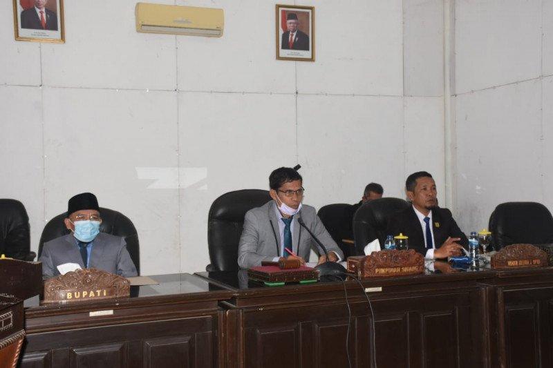 Bupati Lombok Utara sampaikan Raperda Pertanggungjawaban Pelaksanaan APBD 2019