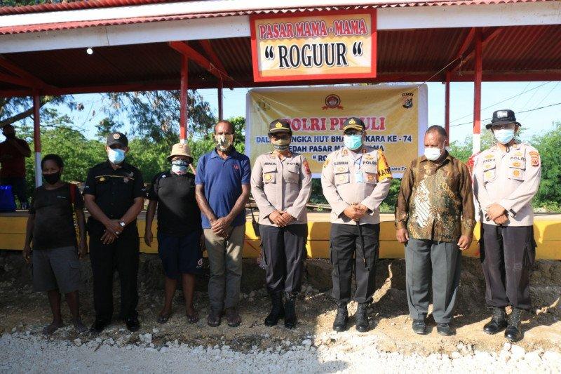 Kapolresta: Pasar Roguur bantu mama Papua pasarkan hasil bumi