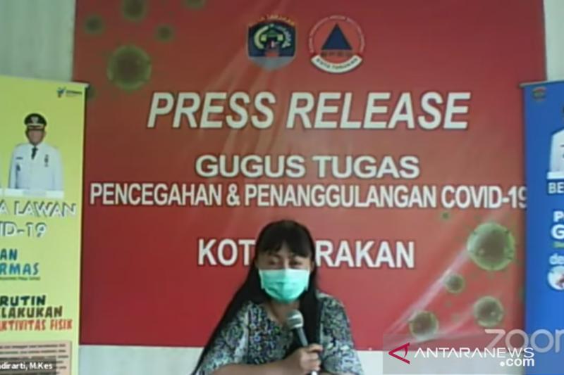 Pasien yang sembuh dari COVID-19 bertambah enam orang di Tarakan
