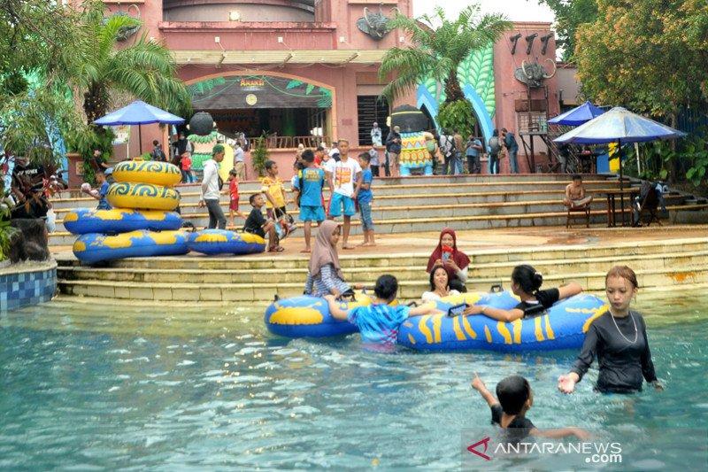 Sarana rekreasi air kembali dibuka di Palembang
