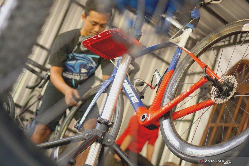 Permintaan jasa servis sepeda meningkat sejak pandemi COVID-19