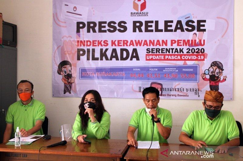 Indeks kerawanan pilkada di Surakarta masuk kategori sedang