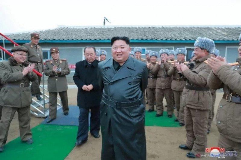 Kim Jong Un sebut pemerintah Korut berhasil cegah COVID-19 mewabah
