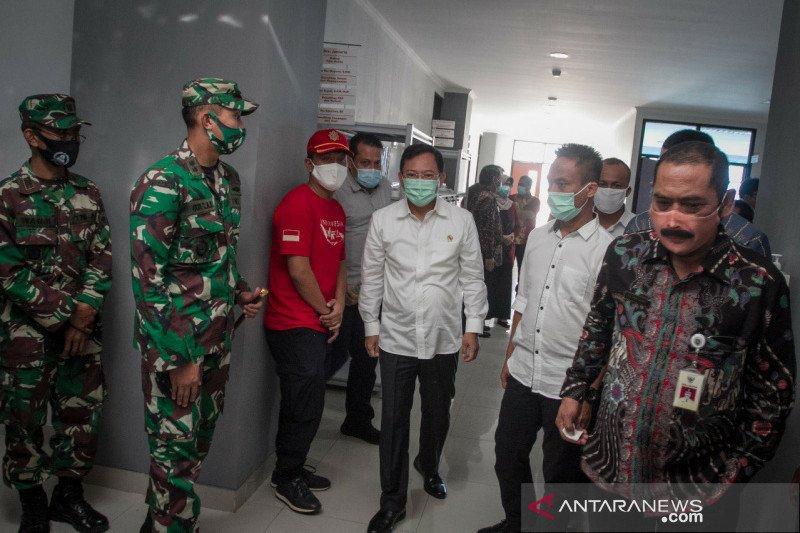 Menkes gagas pengembangan pengobatan tradisional di RSUD Bung Karno Solo