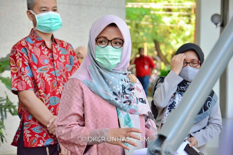 Rektor Unhas : Harapan Presiden Jokowi sudah kami jalankan