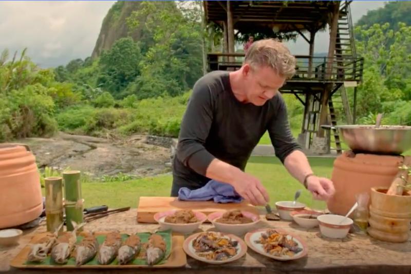 Sentuhan Gordon Ramsay menjadikan masakan Minang kian mendunia