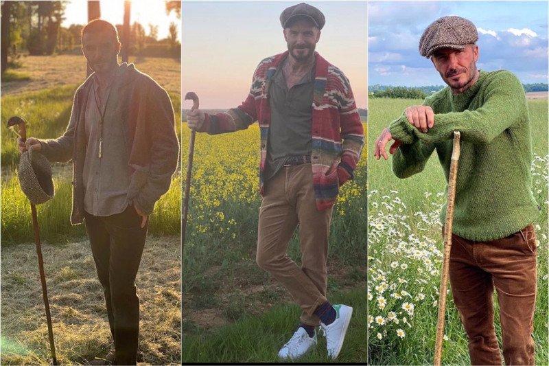 """Cottagecore"" menjadi tren fesyen pria Inggris saat ""lockdown"""