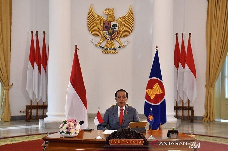 Presiden Jokowi minta sesama perguruan tinggi saling membantu
